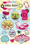 Girls Rule! Stickers by Karen Foster