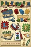 Preschool Fun Stickers - Karen Foster