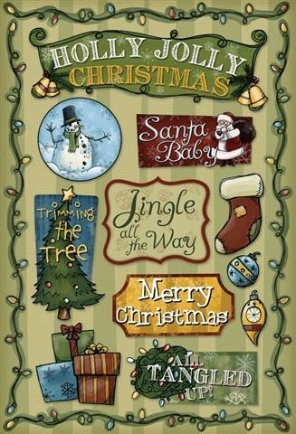 Holly Jolly Stickers by Karen Foster