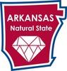 Arkansas STATE-ments Plate Sticker by Karen Foster