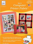 Sew - In Computer Printer Fabric by June Tailor