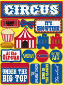 Circus 3D Stickers by Reminisce