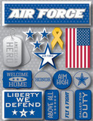 Air Force 3D Stickers by Reminisce