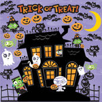 Haunted House 12x12 Stickers by Reminisce
