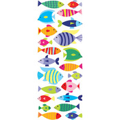 Happy Fish Puffy Stickers