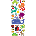 Fun Animals Puffy Stickers