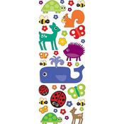 Fun Animals Puffy Stickers