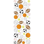 Sports Balls Puffy Stickers