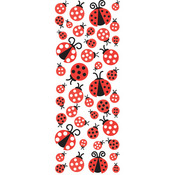 Ladybugs Puffy Stickers