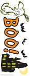 Snoopy Boo Halloween Stickers
