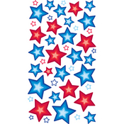 Primary Stars Epoxy Stickers