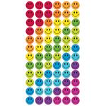 Rainbow Smiles Epoxy Stickers