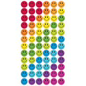 Rainbow Smiles Epoxy Stickers