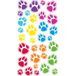 Animal Tracks Epoxy Stickers
