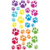 Animal Tracks Epoxy Stickers