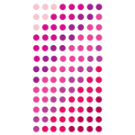 Valentine Dots Epoxy Stickers