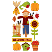Welcome Fall 3 Stickers