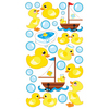 Rubber Duckies Epoxy Stickers