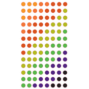 Halloween Dots Epoxy Stickers