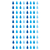 Raindrops Stickers