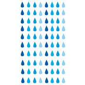 Raindrops Stickers