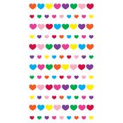 Teeny Mini Hearts Epoxy Stickers