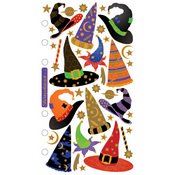 Witch & Wizard Hats Stickers