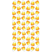 Candy Corn Treats Epoxy Stickers