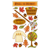 Fall is Here Stickers