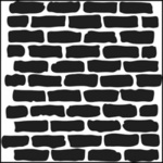 Mini Bricks 6x6 Template - Crafter's Workshop