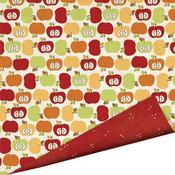 Apple Crisp 12 x 12 Paper - Apple Cider By Imaginisce