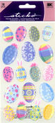Multicolor Easter Eggs Sticko Stickers