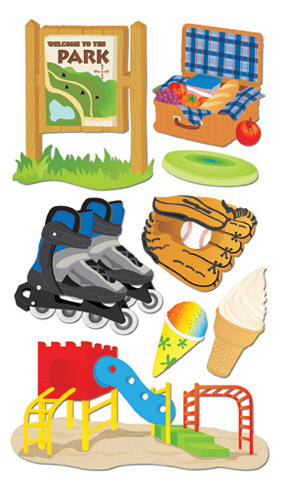 A Day At The Park Stickers By Jolee - EK Success