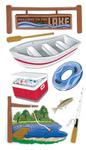 Lake Activities Stickers By Jolee - EK Success