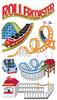 Roller Coaster Stickers By Jolee - EK Success