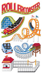 Roller Coaster Stickers By Jolee - EK Success