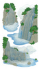 Vellum Waterfall Stickers By Jolee - EK Success