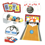 Bowling Alley Stickers By Jolee - EK Success
