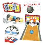 Bowling Alley Stickers By Jolee - EK Success