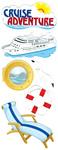 Cruise Adventures Stickers By Jolee - EK Success