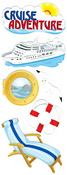 Cruise Adventures Stickers By Jolee - EK Success