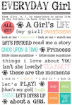 Express Yourself Everyday Girl Sticker - SRM Stickers