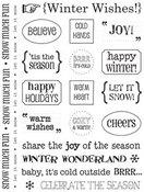 Sticker Sentiments Winter - SRM Stickers