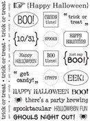 Sticker Sentiments Halloween - SRM Stickers