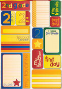 Second Grade Quote Stickers - Reminisce