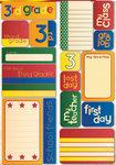 Third Grade Quote Stickers - Reminisce