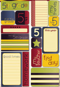 Fifth Grade Quote Stickers - Reminisce