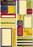 Seventh Grade Quote Stickers - Reminisce