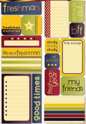 Freshman Quote Stickers - Reminisce
