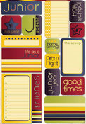 Junior Quote Stickers - Reminisce